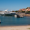 Sardinia, italy: Porto cervo, view of the old harbour