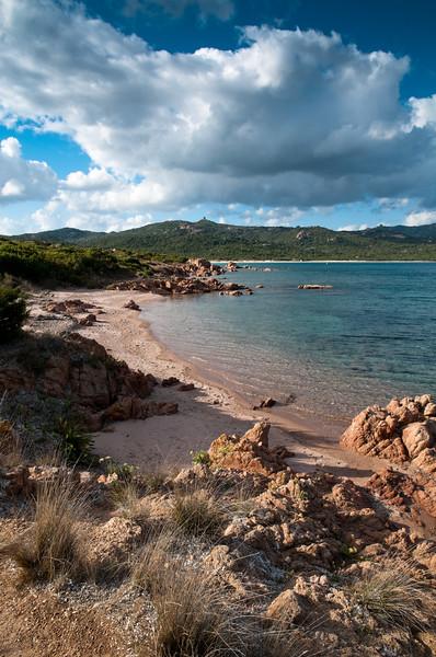 Sardinia, Italy: Cala Petra Ruja bay in Costa Smeralda