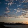 Costa Smeralda, tramonto sul mare a Cala Del Faro