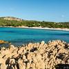 Costa Smeralda, Grande Pevero Beach. Spiaggia Grande Pevero.