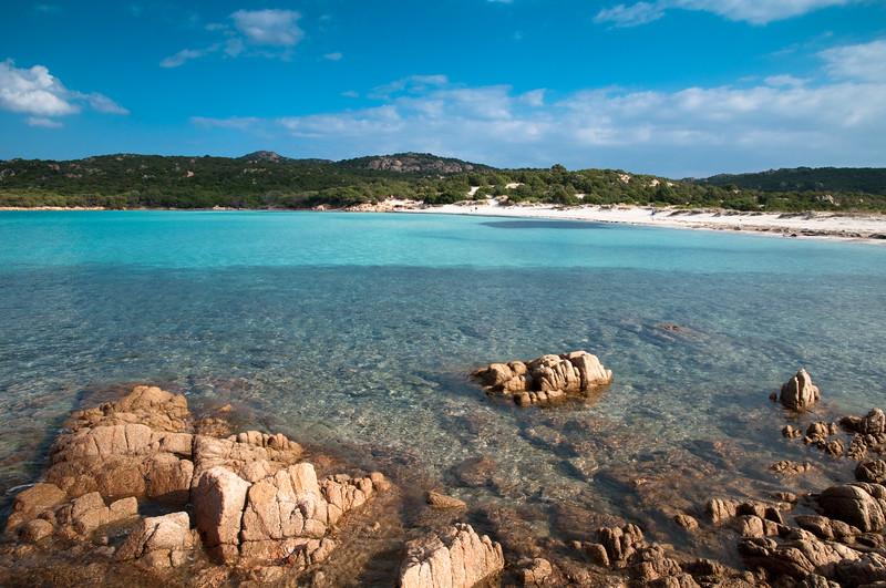Sardinia, Italy: Costa Smeralda. Pevero beach.