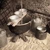 Fonni: vecchi strumenti per la lavorazione del latte e del formaggio pecorino