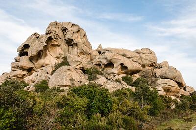 Sardinia, Italy: granite rock formations in the country near Calangianus, Gallura region - Sardegna, formazioni granitiche nei pressi di Calangianus, Gallura.
