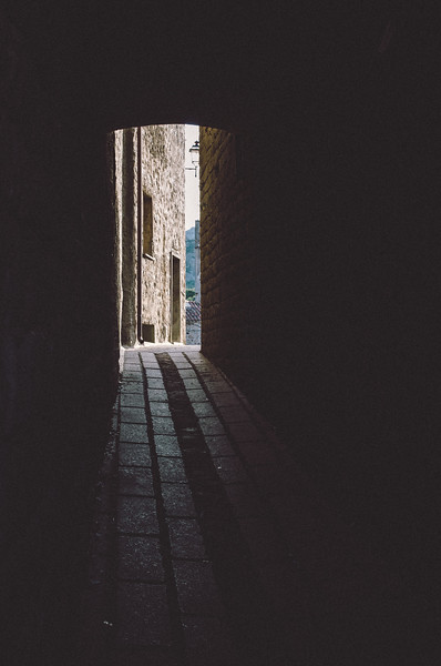 Aggius: Centro storico.