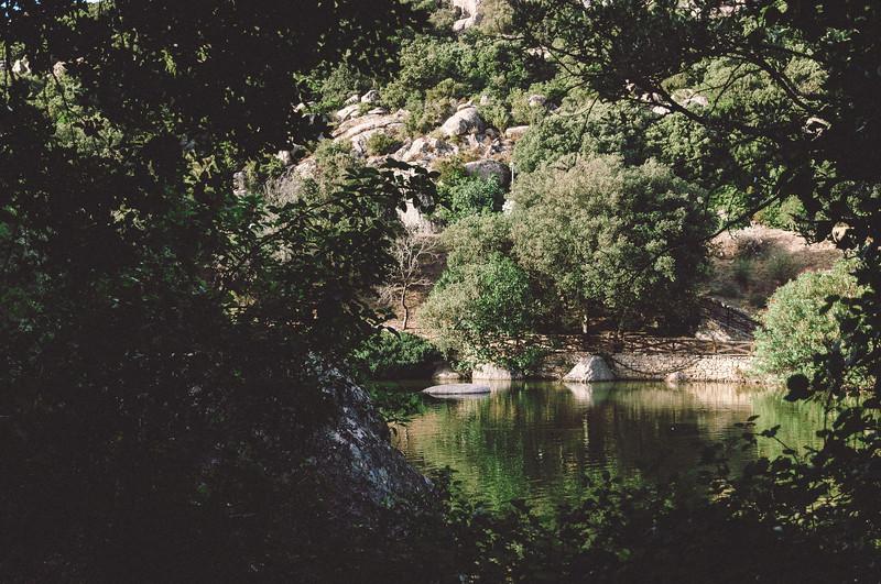 Aggius, laghetto di Santa Degna