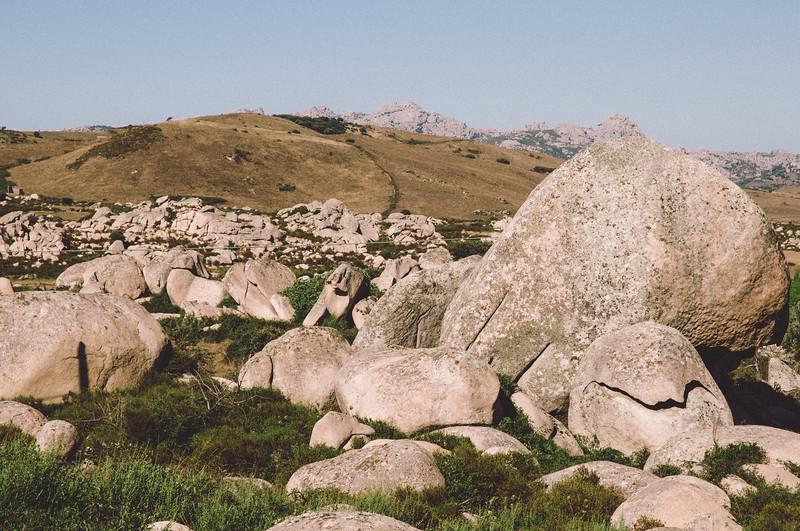 Aggius, la Valle della Luna, detta anche la piana dei grandi sassi