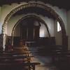 Aggius, interno della chiesa di Santa Croce.