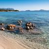 Sardinia, Italy: Golfo Aranci, Spiaggia Bianca (white beach).