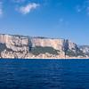 Costa del Golfo di Orosei, caratterizzata dalla scogliera a picco sul mare e calette nascoste accessibili esclusivamente via mare