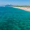 Sardinia, Italy: Marina di Orosei beach - Sardegna, spiaggia della Marina di Orosei