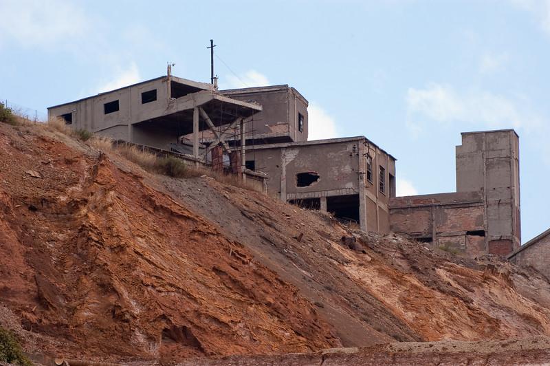 Sardinia, Italy: Monteponi old mine - Sardegna, Iglesias, miniera Monteponi, facente parte del parco geominerario storico ambientale della Sardegna.