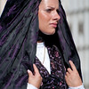 Nuoro, Sardinia, 28.08.2011 - 111^ Sagra del Redentore. Traditional sardinian dress show. - Sfilata dei costumi tradizionali della Sardegna. Gruppo Folk di Olbia