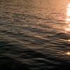 Tramonto sull'acqua a Porto Istana, nei pressi di Olbia.