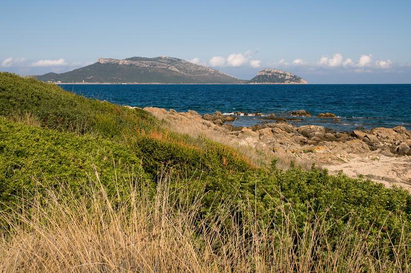 Sardinia, Italy: Olbia, Pittulongu beach. Spiaggia di Pittulongu.