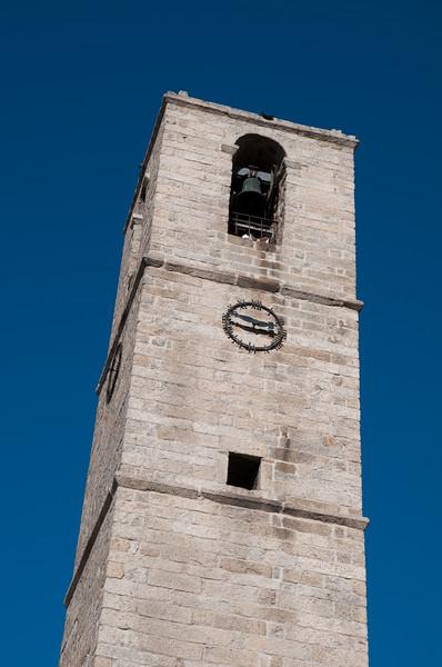 Sardinia, Italy: Olbia, bell tower of San paolo Church. - Sardegna, Olbia: il campanile della chiesa di San Paolo.