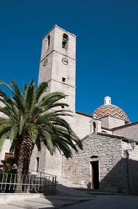 Sardinia, Italy: Olbia, San paolo Church. - Sardegna, Olbia: la chiesa di San Paolo con la caratteristica cupola