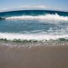 Sardinia, Italy: Olbia, windy day at Pittulongu beach / spiaggia di Pittulongu, nei pressi di Olbia