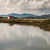 Spiaggia e stagno di Marina Maria, vicino a Murta maria, frazione di Olbia.