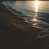 """Olbia: spiaggia """"Li Cuncheddi"""". Elaborazione pellicola Fuji PRO400H replica."""