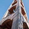 Olbia: Porto Rotondo - campanile della chiesa di San Lorenzo