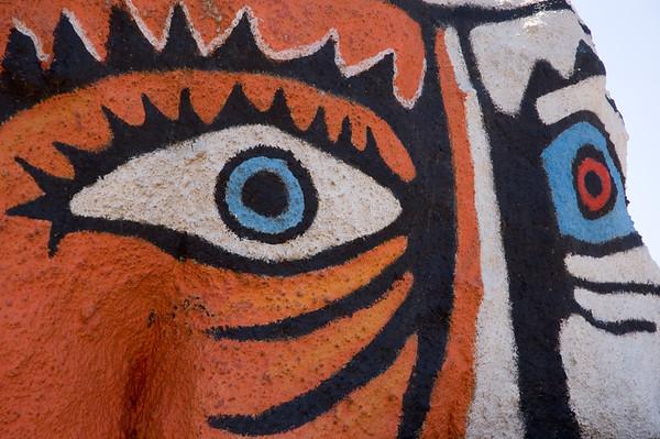 Sardinia: Orgoloso, Murales