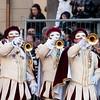 Oristano (Italy), 21.02.2012 - Sartiglia festival (Gremio dei Falegnami), the most important carnival of Sardinia. Trumpeters.
