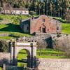 Sardinia, Italy: Sedilo, San Costantino sanctuary. - Sardegna: Sedilo, il santuario di San Costantino, detto anche Santu Antinu