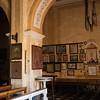 Sedilo: santuario di San Costantino, detto anche Santu Antinu. Particolare dell'interno.