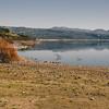 Sedilo: le rive del Lago Omodeo.