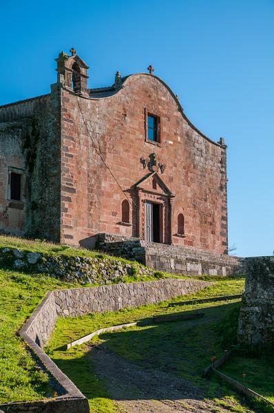 Sedilo: santuario di San Costantino, detto anche Santu Antinu