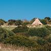 Sedilo, vecchia capanna utilizzata come ricovero per gli animali.