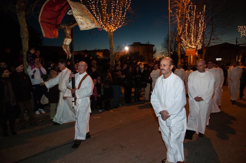 Ottana: la processione in occasione della festa di Sant'Antonio Abate.