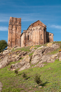 Sardinia, Italy: Ozieri, Sant'Antioco di Bisarcio church - Sardegna, Ozieri: chiesa Sant'Antioco di Bisarcio