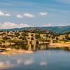 Fiume Coghinas, nei pressi di Ozieri, nord Sardegna.