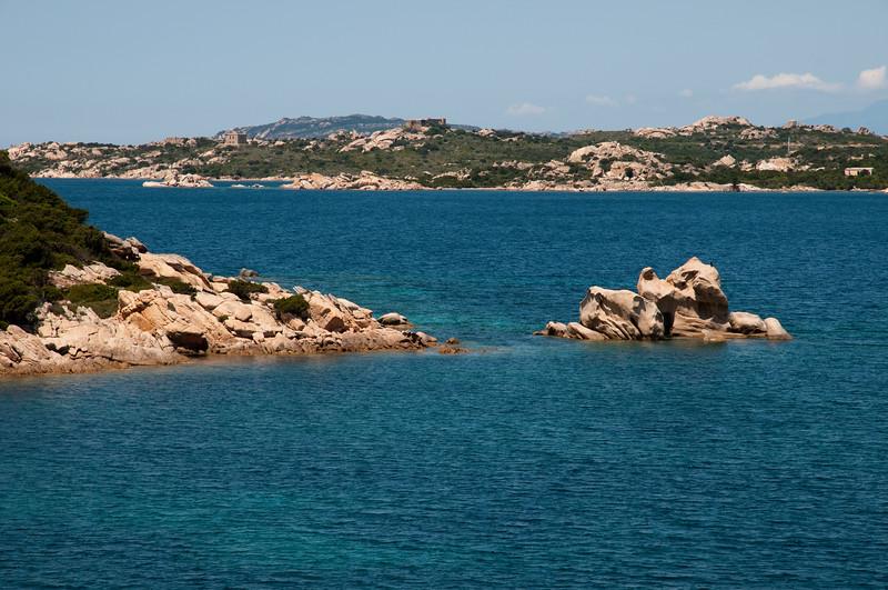 Sardinia, Italy: Palau, Capo d'Orso bay - Sardegna, Palau, la acque trasparenti di Capo d'Orso