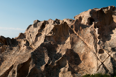 Sardinia, Italy: Palau. Capo d'Orso and its typical granitic rocks.