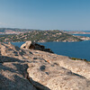 Sardinia, Italy: Archipelago of La Maddalena viewed from Capo d'Orso -  Palau, Capo d'Orso: veduta dell'arcipelago della Maddalena. Isole di Santo stefano e La Maddalena.
