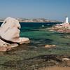 Sardinia, Italy: Palau. The lighthouse of Porto Faro. Palau, Porto Faro, bellissima insenatura affacciata sull'arcipelago della Maddalena
