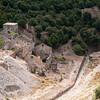 Sardinia, Italy, Arbus: ruins of Ingurtosu's old mine. Rovine della vecchia miniera di Ingurtosu, nei pressi di Arbus.