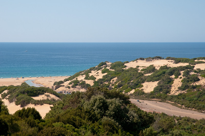 the widest desertic area of Europe, situated near Arbus in the Costa Verde region