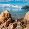 Sardinia, Italy: Tavolara island viewed from Porto San Paolo Beach