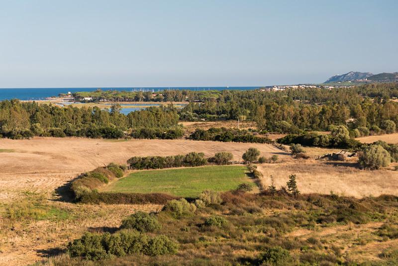 Posada, vista sulla spiaggia di Orvile