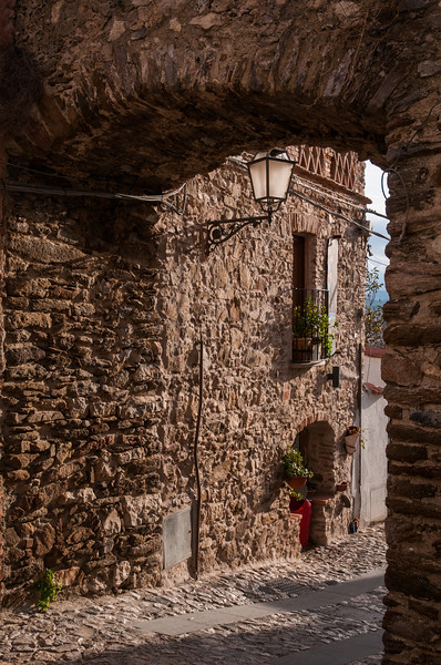 Posada, centro storico