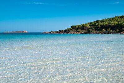 Sardinia, Italy: Cala Brandinchi Bay, near San Teodoro