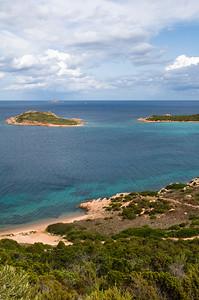 Sardinia, Italy: San Teodoro, Capo Coda Cavallo. Punta Est beach.