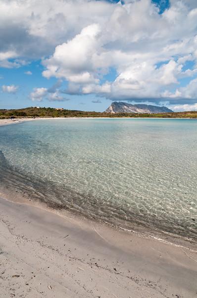 Cala brandinchi beach, near San Teodoro, Sardinia.
