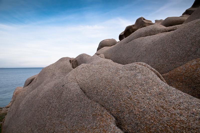 Sardinia, Italy: rocks of Capo Testa Bay at sunset - Santa Teresa Gallura, Capo Testa al tramonto