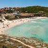 Sardinia, Italy: Santa Teresa Gallura: Rena Bianca beach (spiaggia la Rena Bianca).