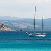 Barca nelle acque di Santa Teresa Gallura