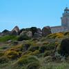 Sardinia, Italy: Lighthouse of Capo Testa, near Santa Teresa Gallura. Sardegna, Santa Teresa Gallura, il faro di Capo Testa.